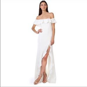 Jay Godfrey brand new white gown size 2
